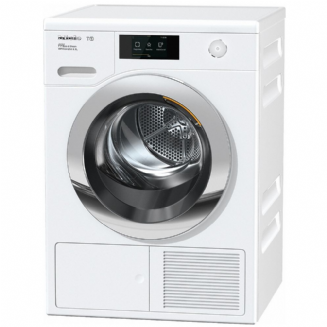 MieleTCR860 WP Eco&Steam WiFi&XL T1 Heat-pump tumble dryer with SteamFinish, 1-9 kg load and WiFiCon